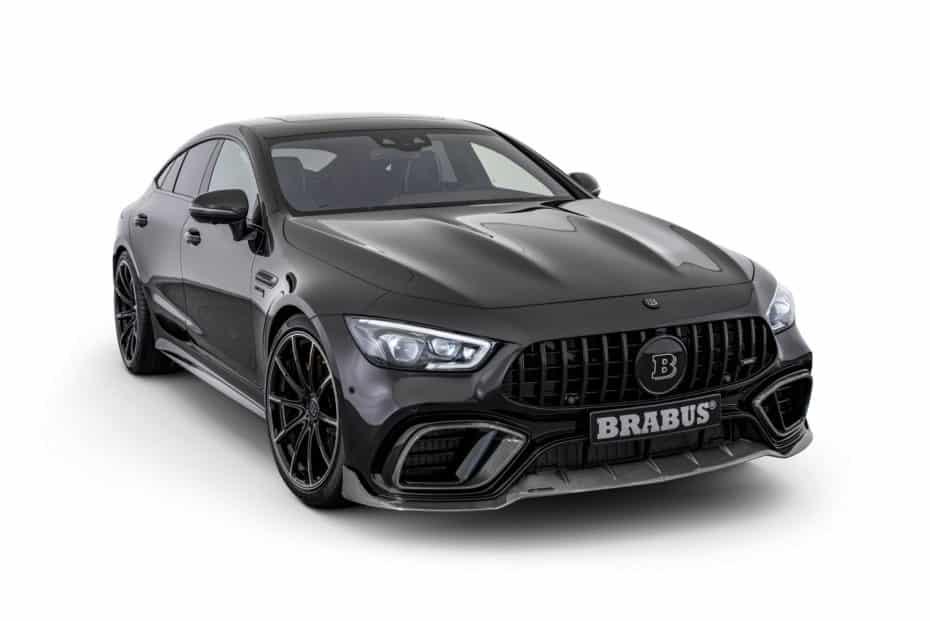 El Mercedes-AMG GT 4 puertas Coupé con 161 CV y 100 Nm extra de BRABUS es, sencillamente, espectacular