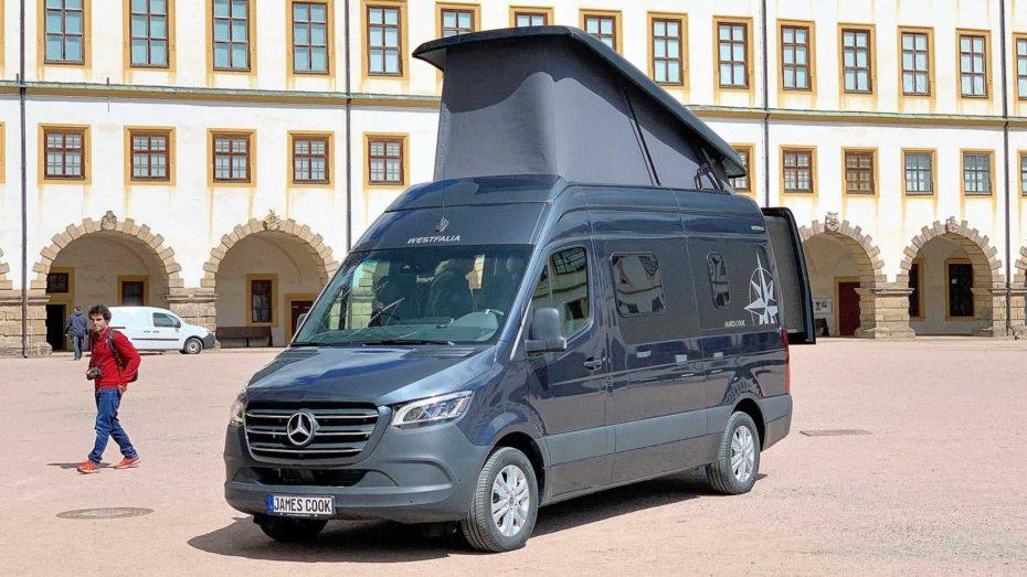 Vuelve la Mercedes-Benz Sprinter James Cook de Westfalia: Muy equipada y con carrocería extensible