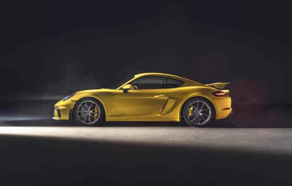 Porsche 718 Spyder y 718 Cayman GT4: 420 CV atmosféricos y manuales