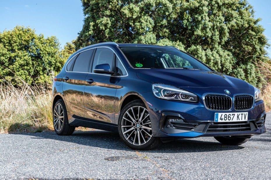 Prueba BMW 218i Active Tourer DCT 2019: No le pesan los años