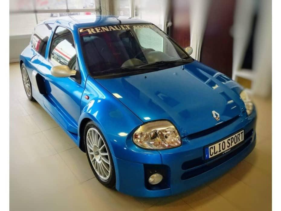¡Joya a la venta! Este RenaultClio V6 no es ninguna ganga, pero querrás tenerlo en el garaje
