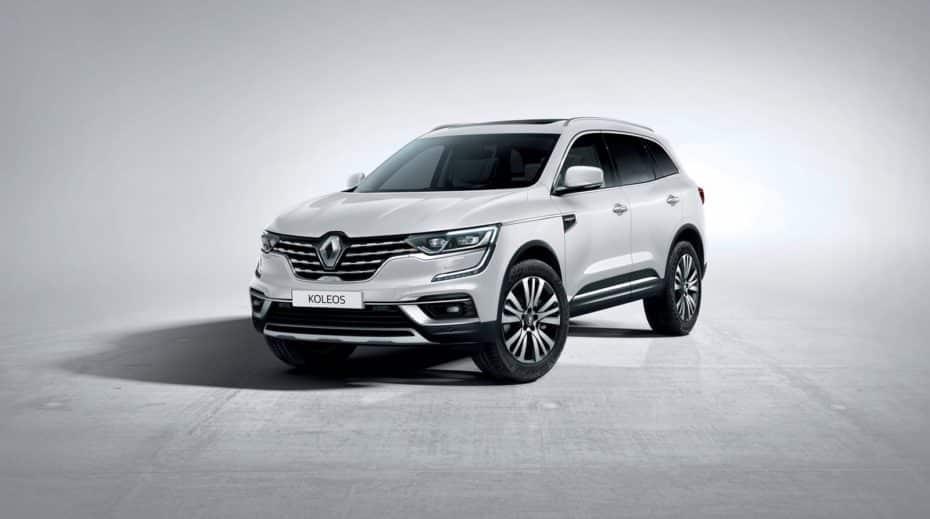 Así es el renovado Renault Koleos: Cambios muy sutiles y equipamiento actualizado