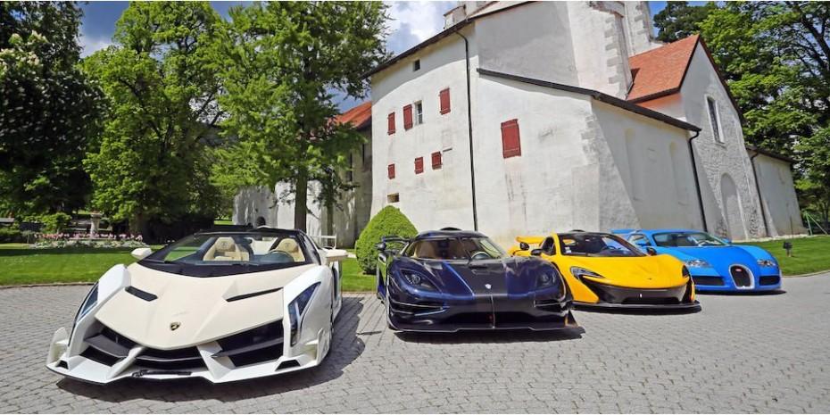 ¿Estamos ante la mejor subasta de la historia?: Veneno Roadster, One-77, LaFerrari, Veyron…