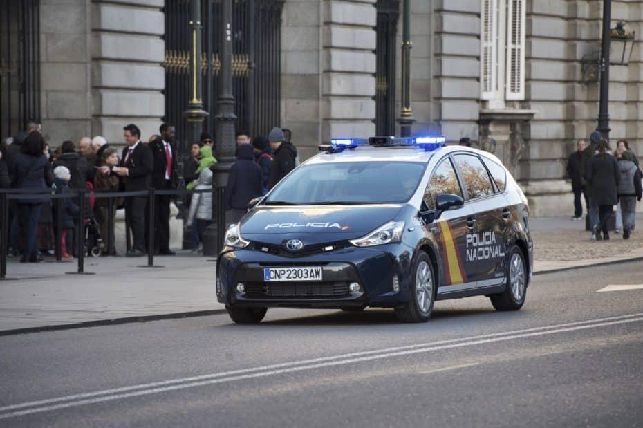 70 ejemplares del Toyota Prius+ también para la Policía Nacional: Dando ejemplo