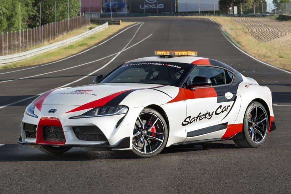 El nuevo Toyota GR Supra se pone el «traje de luces»: Ahora es un Safety Car