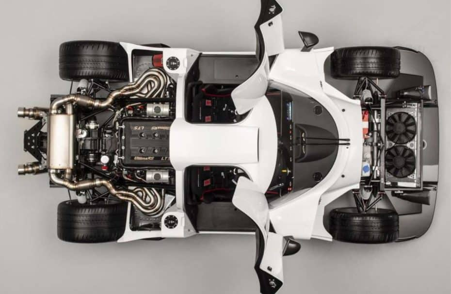 Ultima RS: Una bestia de 1200 CV con motor V8 de Chevrolet y caja de cambios Porsche