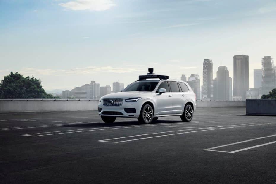 Volvo y Uber presentan un vehículo de producción listo para circular de forma autónoma
