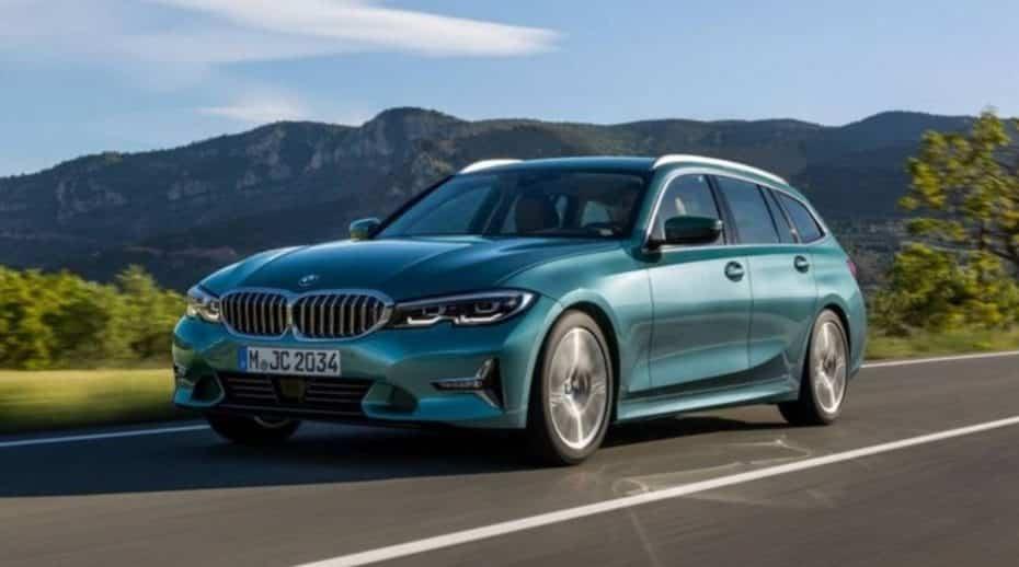 ¿Filtrado?: Primeras imágenes del BMW Serie 3 Touring…
