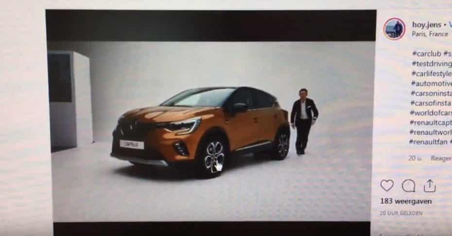 ¡Filtrado!: Así es la segunda generación del Renault Captur