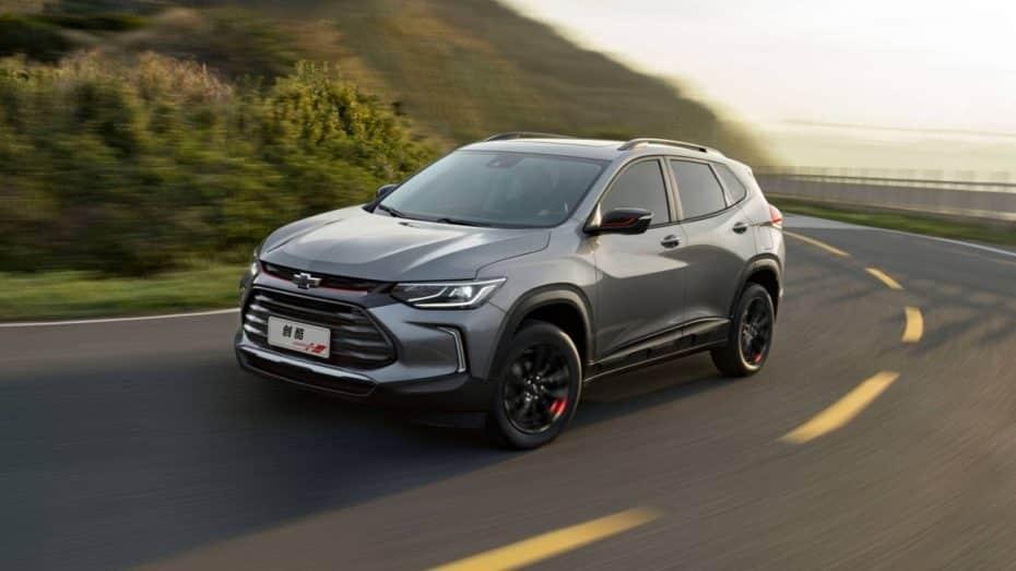 El Chevrolet Tracker se estrena en China: Por 12.870 € al cambio