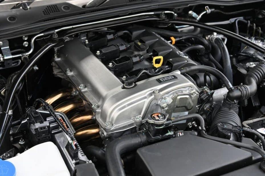 BBR le mete mano al motor Mazda Skyactiv 2.0 G: 221 CV para el MX-5