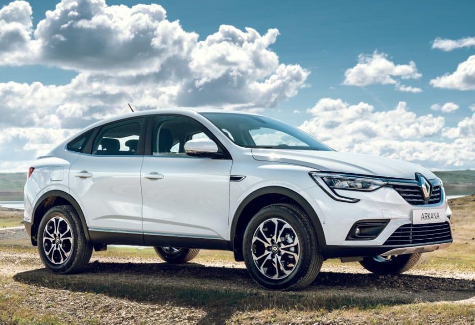 Más imágenes del nuevo Renault Arkana: ¿Te gustaría verlo por aquí?