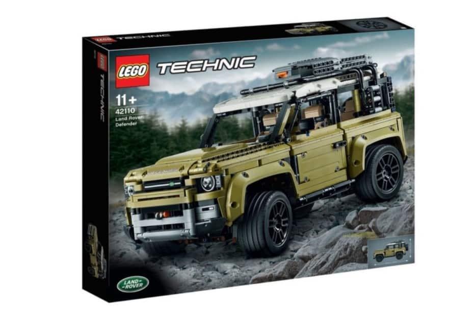 Atento a lo nuevo de LEGO Technic: El Set 42110 es un Land Rover Defender
