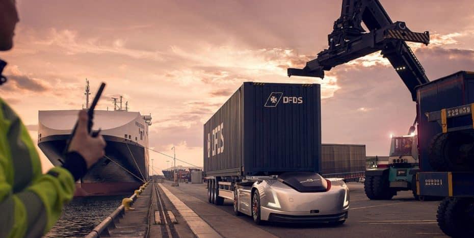 Autónomo, eléctrico y real: Este camión de Volvo debuta en el puerto de Gotemburgo