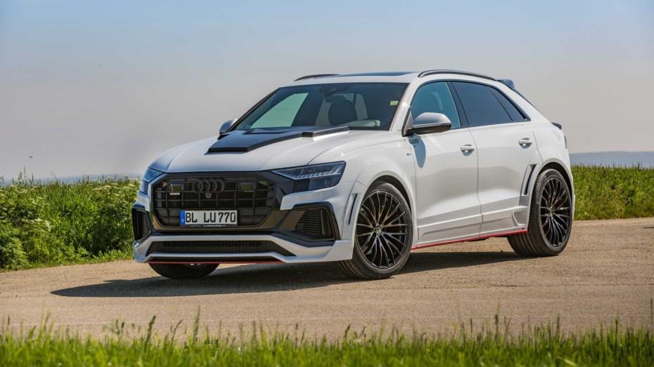 El CLR 8S de Lumma Design es un Audi Q8 con esteroides en la carrocería ¡Y bajo el capó!