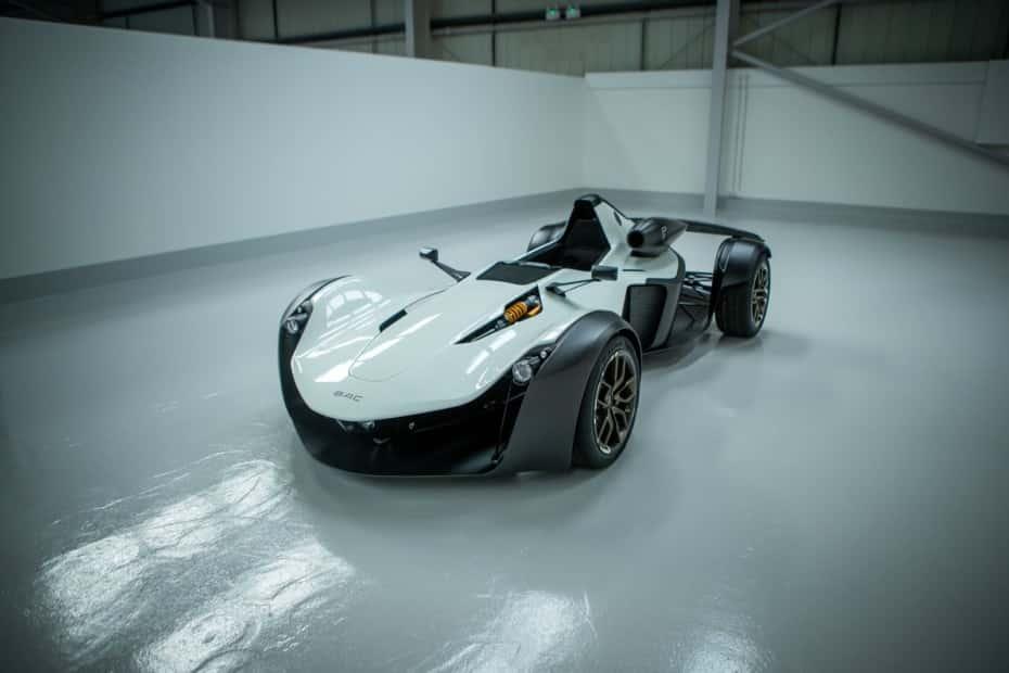 136 CV por litro en un motor de aspiración natural: El BAC Mono R es récord sobre ruedas