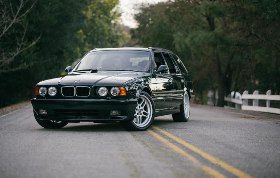 A história do BMW M5 Touring E34 que escondeu o bloco V12 do McLaren F1