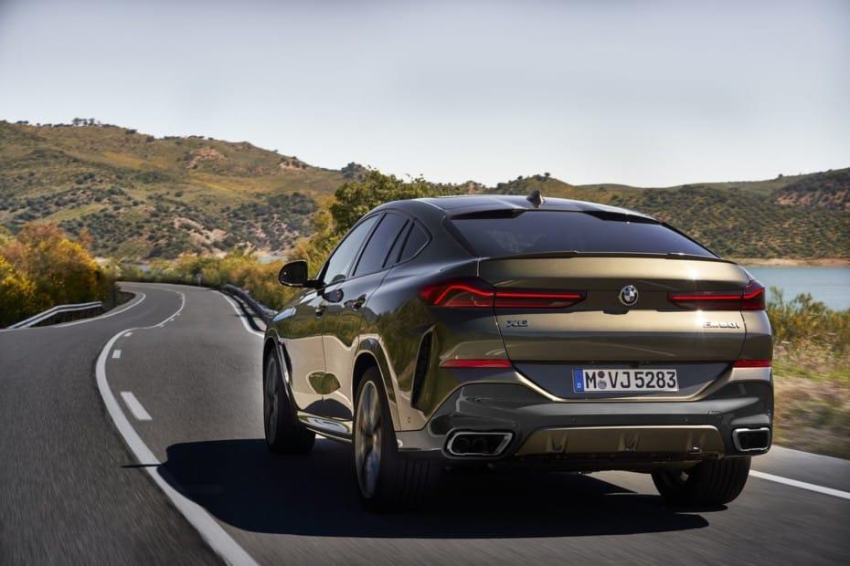 ¡Oficial! BMW X6 2020: Hasta 530 CV procedentes de un bloque V8 en el M50i