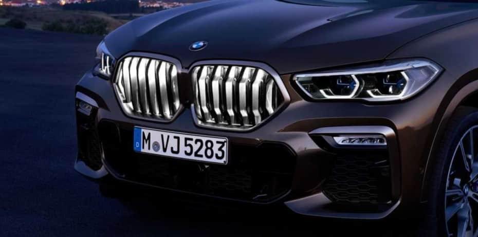 Así es la parrilla de riñones iluminada que estrena el nuevo BMW X6