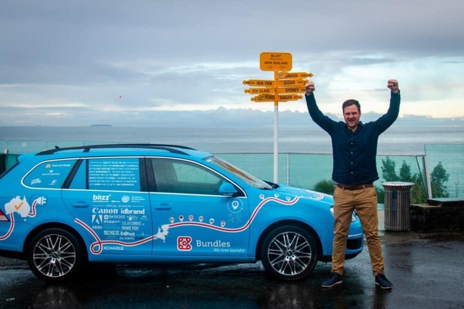 100.450 kilómetros y 34 países en un Golf eléctrico a coste cero: ¿Parece que los eléctricos son viables?