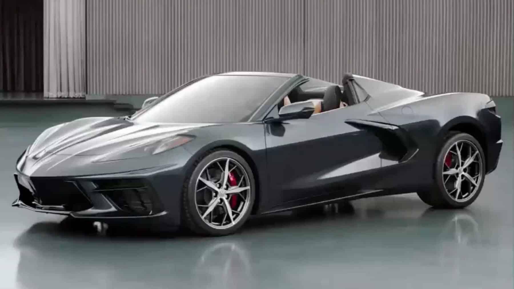 Primeras imágenes del Chevrolet Corvette Convertible 2020: ¿Todavía mejor que el Stingray?