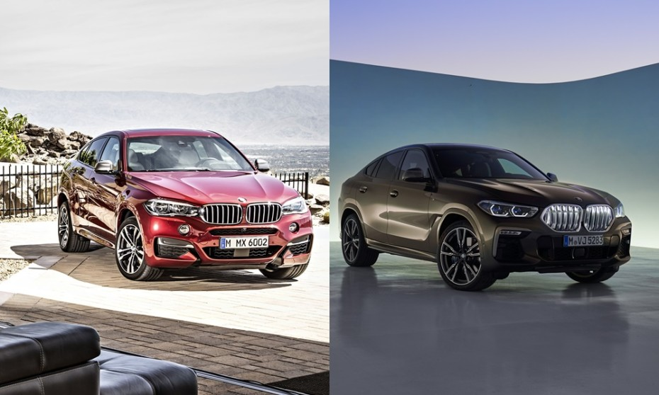 Comparación visual: Juzga tú mismo si el BMW X6 2019 ha cambiado a mejor… o no