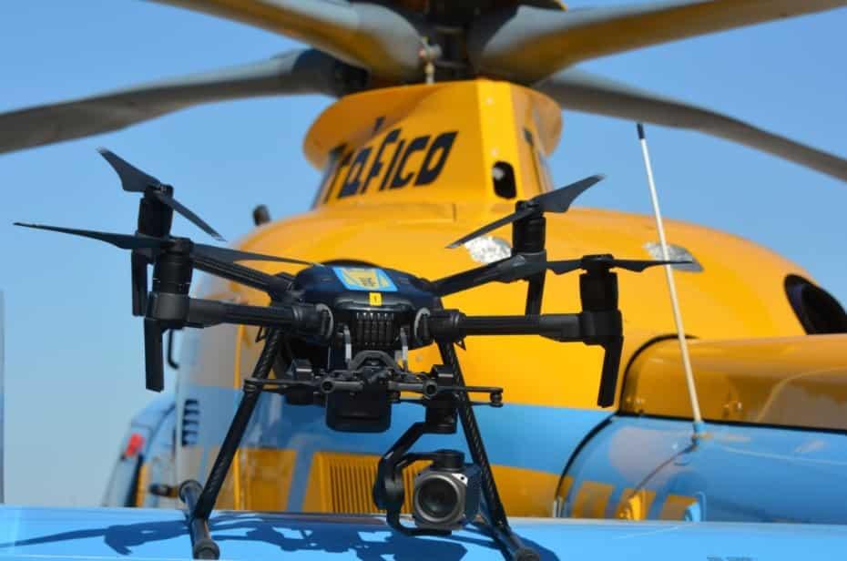 Los drones de la DGT empiezan a multar: A finales de año habrá operativos 31