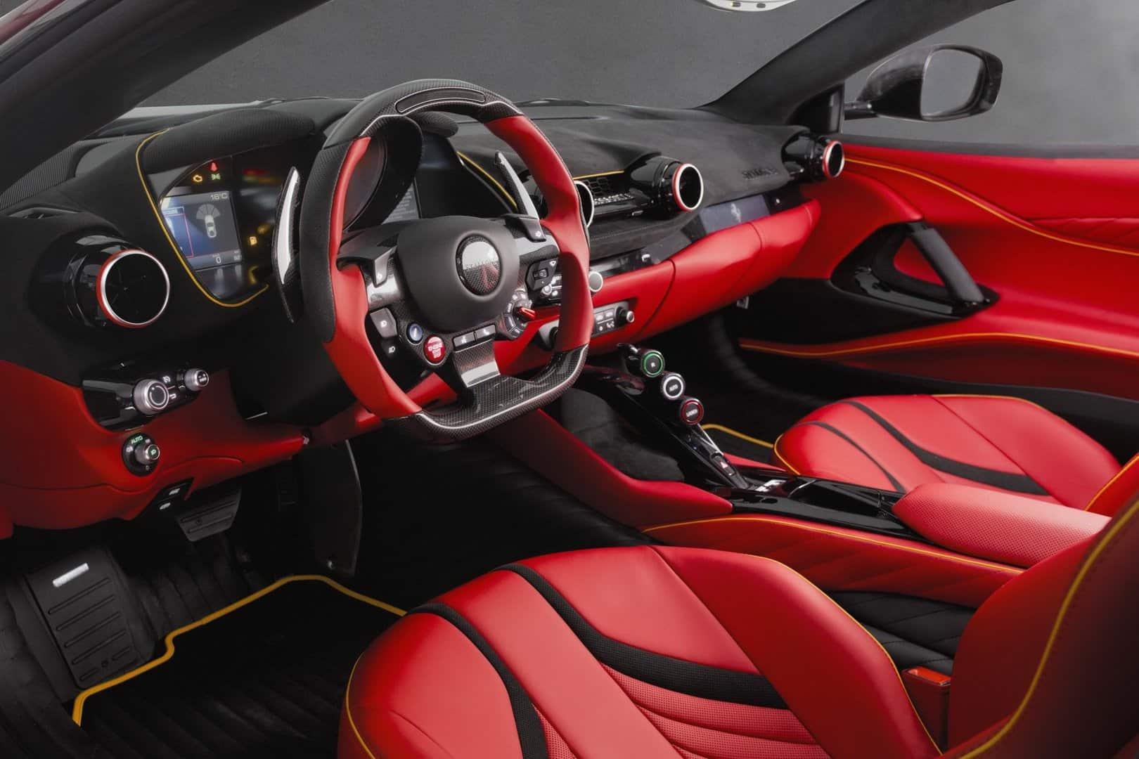 El Ferrari 812 Superfast Stallone De Mansory Es Puro Musculo