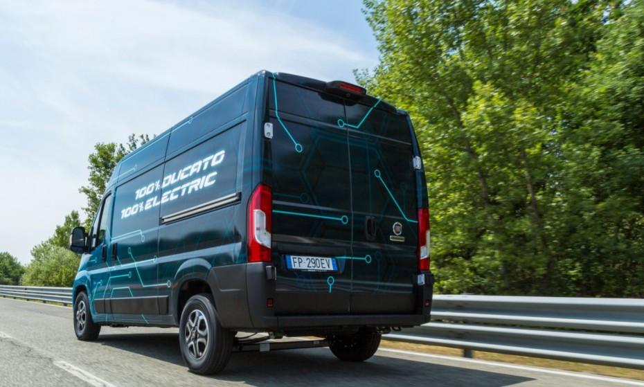 Fiat revela algunos detalles del Ducato Electric: Hasta 360 km de autonomía