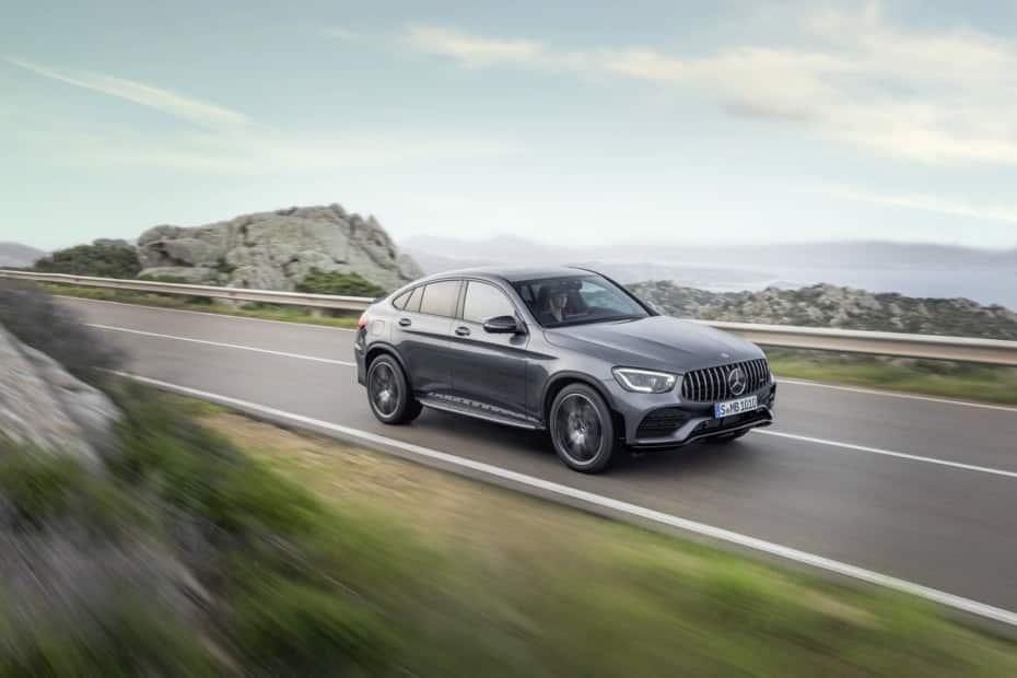 Mercedes-AMG refresca el aspecto del GLC43 4MATIC, ahora con 390 CV