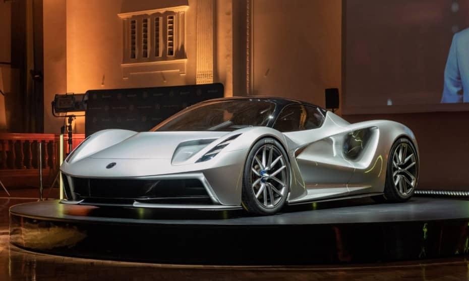 Así luce al natural el Lotus Evija, un «hypercar» eléctrico salvaje