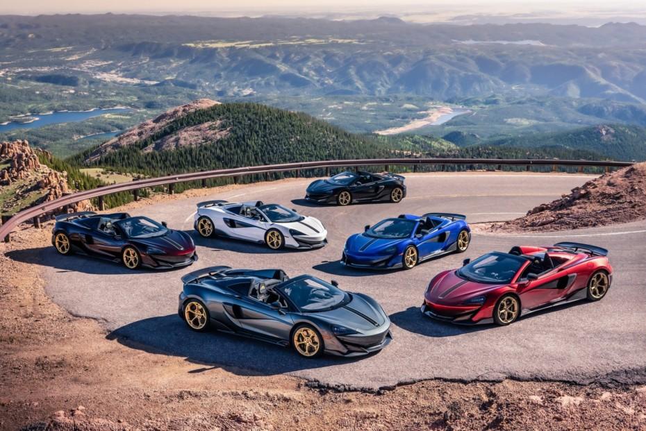 Los McLaren 600LT Spyder más exclusivos rinden homenaje a Pikes Peak