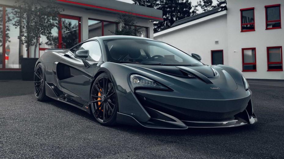 El McLaren 600LT de Novitec es una bestia con 88 CV y 92 Nm extra