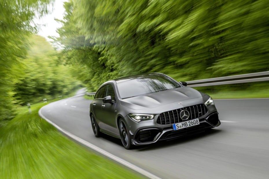 Mercedes-AMG CLA 45 4MATIC+ Shooting Brake: Deportivo y familiar con hasta 421 CV