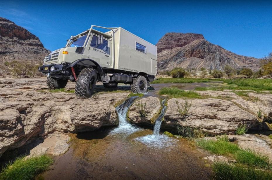 El Unimog Action Mobil Temet 3600 te permite tener un lujoso apartamento en el fin del mundo