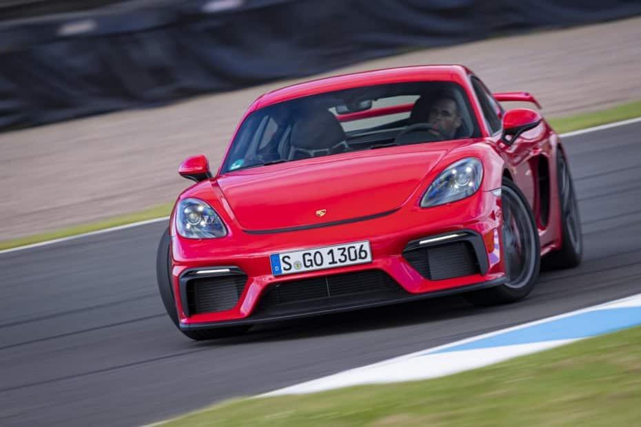 Todas las bondades del Porsche 718 Cayman GT4 en una extensa e interesante galería de imágenes
