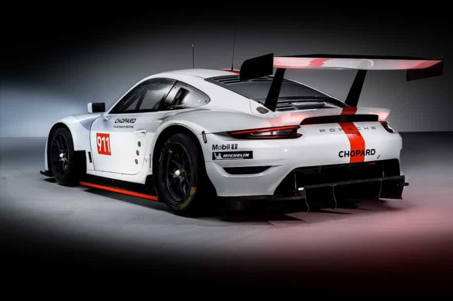 Porsche renueva el 911 RSR para seguir triunfando en el panorama internacional