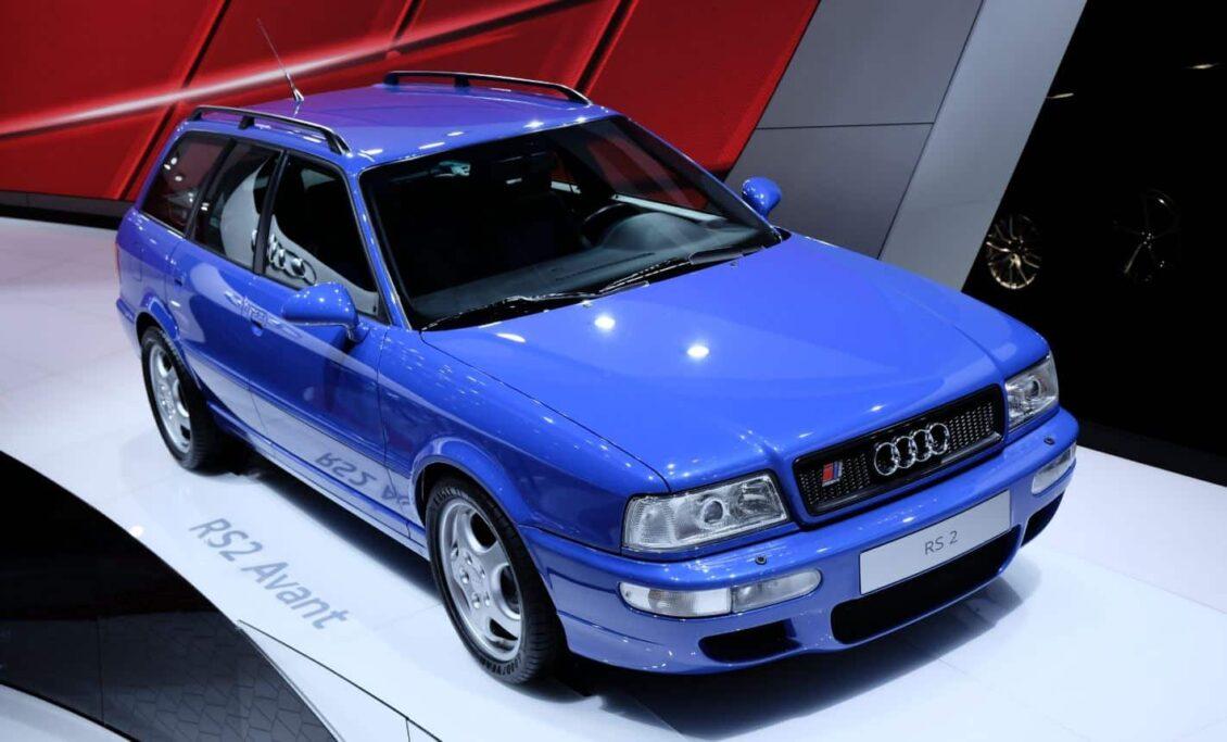El Audi RS 2 Avant cumple 25 veranos y sigue en plena forma