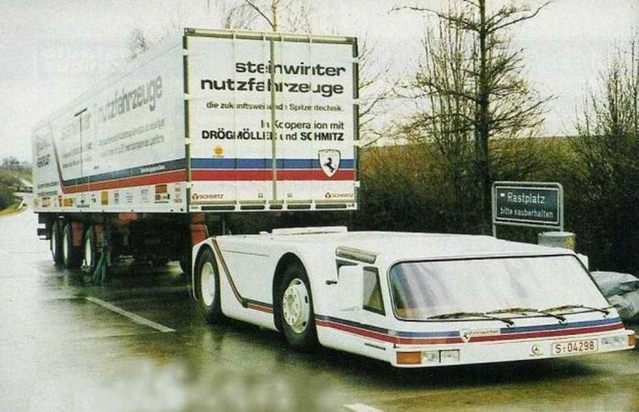 Steinwinter Supercargo 2040 Cab-Under: La historia del camión que murió antes de revolucionar el sector