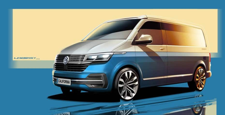 Primeras imágenes y detalles del Volkswagen California 2020: El camper por excelencia se renueva