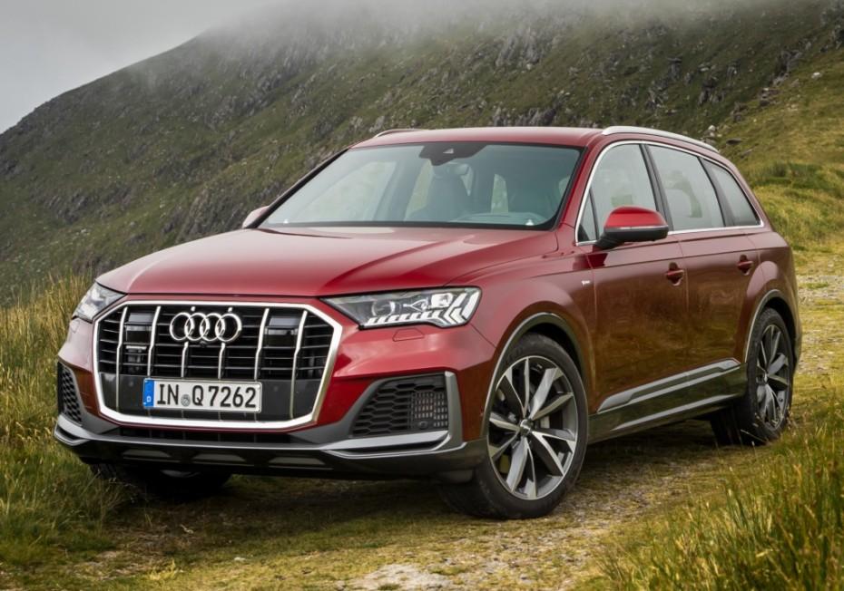 Nuevas imágenes del renovado Audi Q7
