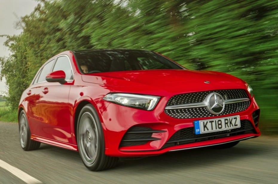 El Mercedes A250e estará listo en septiembre