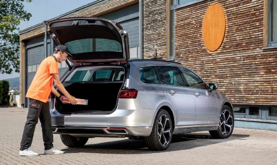 Si tienes un Volkswagen ahora tienes un buzón allá donde estés: Entrega de paquetes en tu coche