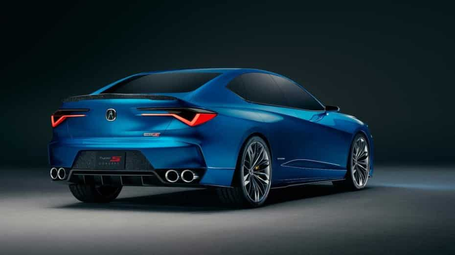 Acura Type S Concept Sedan: El renacer de los míticos Type S