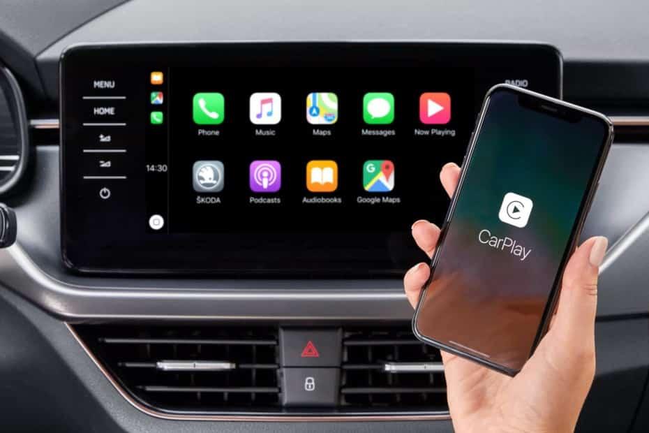 Apple CarPlay y Android Auto llegan sin cables a Škoda