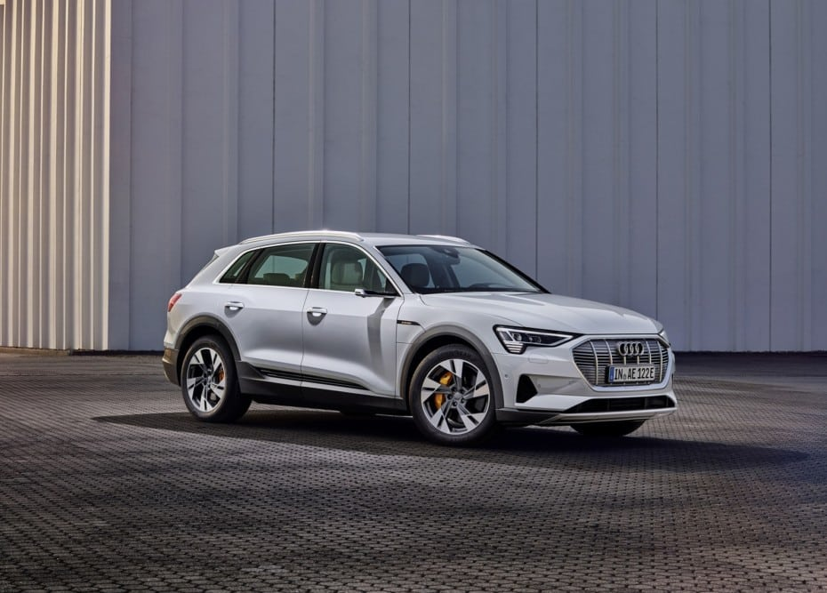 Audi e-tron 50 quattro: El SUV eléctrico estrena versión de acceso
