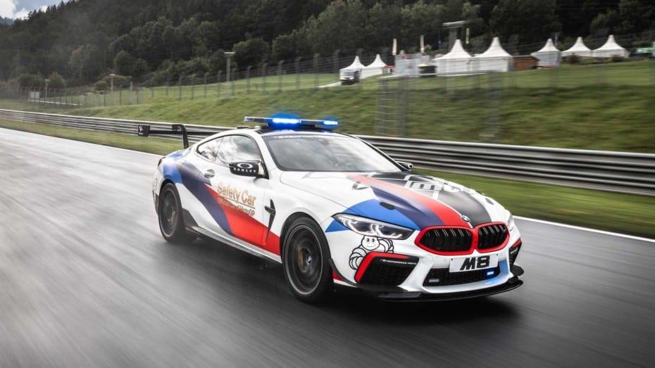 El nuevo Safety Car de MotoGP no es otro que el recién presentado BMW M8 Competition