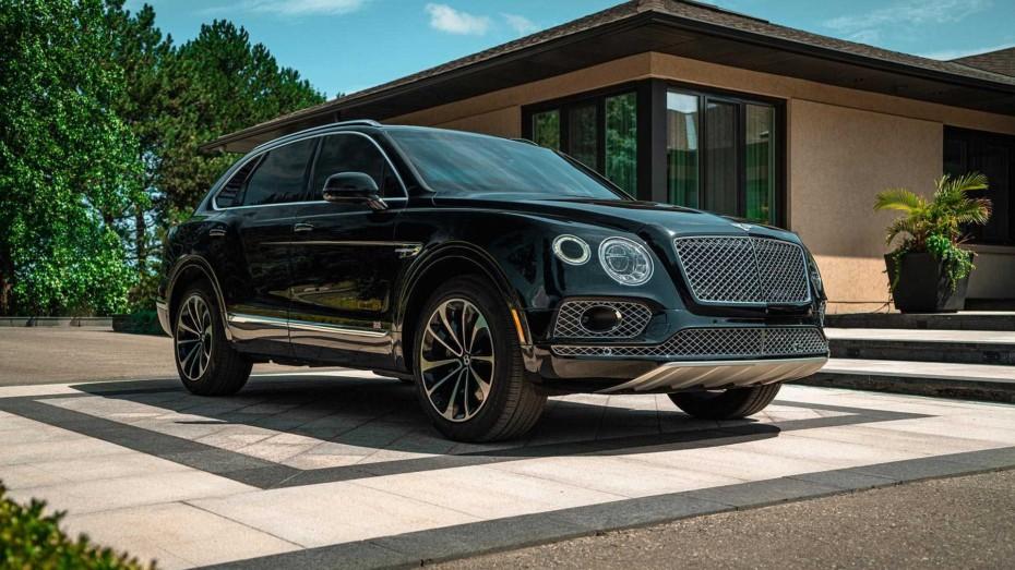 Este Bentley Bentayga blindado es un búnker de lujo sobre ruedas