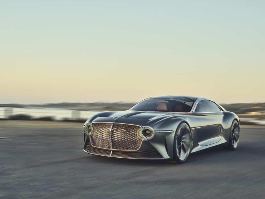 Bentley nos muestra más imágenes del EXP 100 GT: Espectacular celebración del centenario