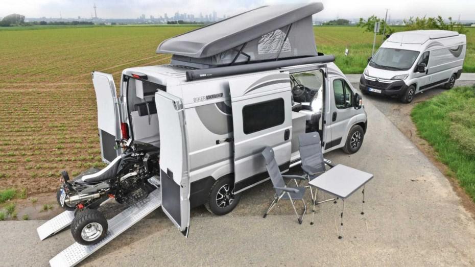 Citroën Jumper Biker Solution Multi: Listo para llevar a toda la familia de acampada con sus «juguetes»